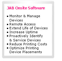 Jab Onsite Software